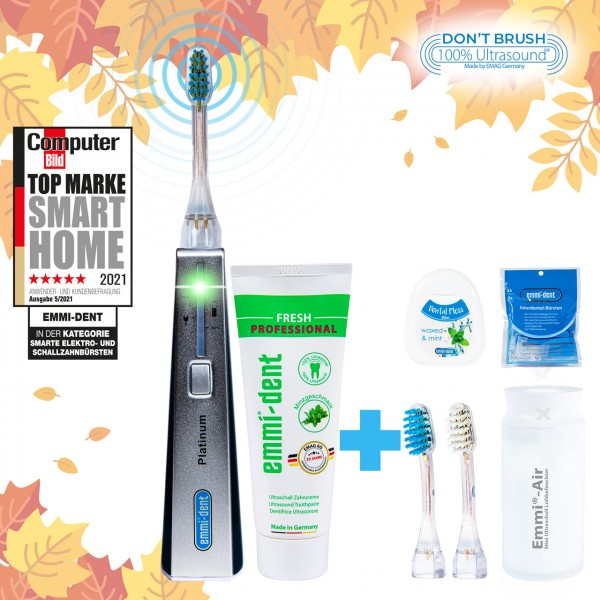 Ultrasonic toothbrush Platinum Carbon+Humidifier