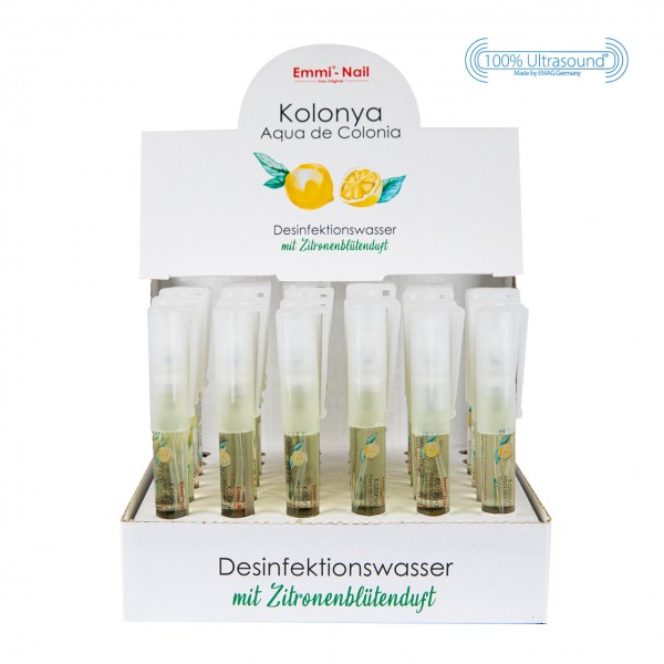 Disinfection Water Kolonya + Stand