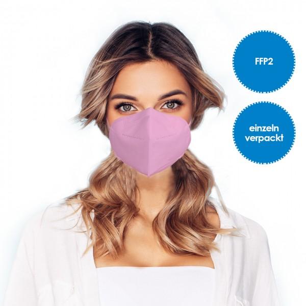 FFP2 Respirator mask pack of 10 *pink*